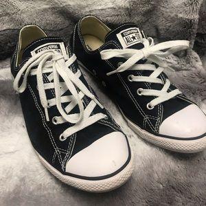 Black Converse Sneakers - W10/M8